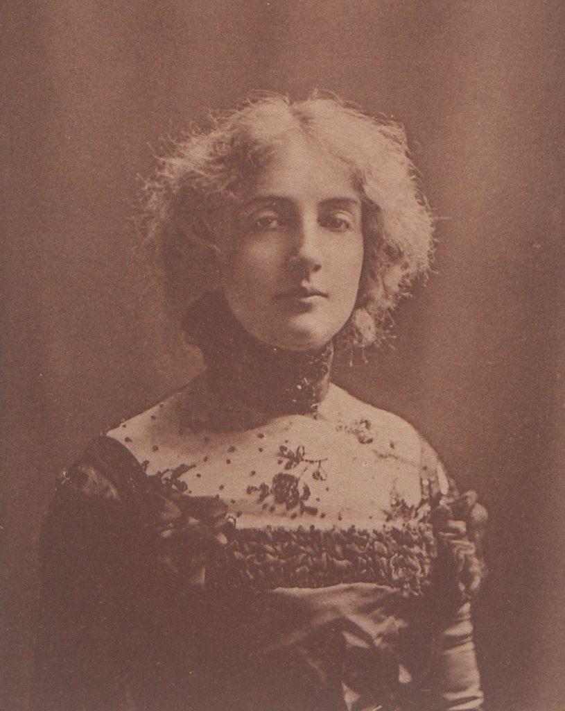 Dagny poznała Przybyszewskiego w 1893 roku (domena publiczna).