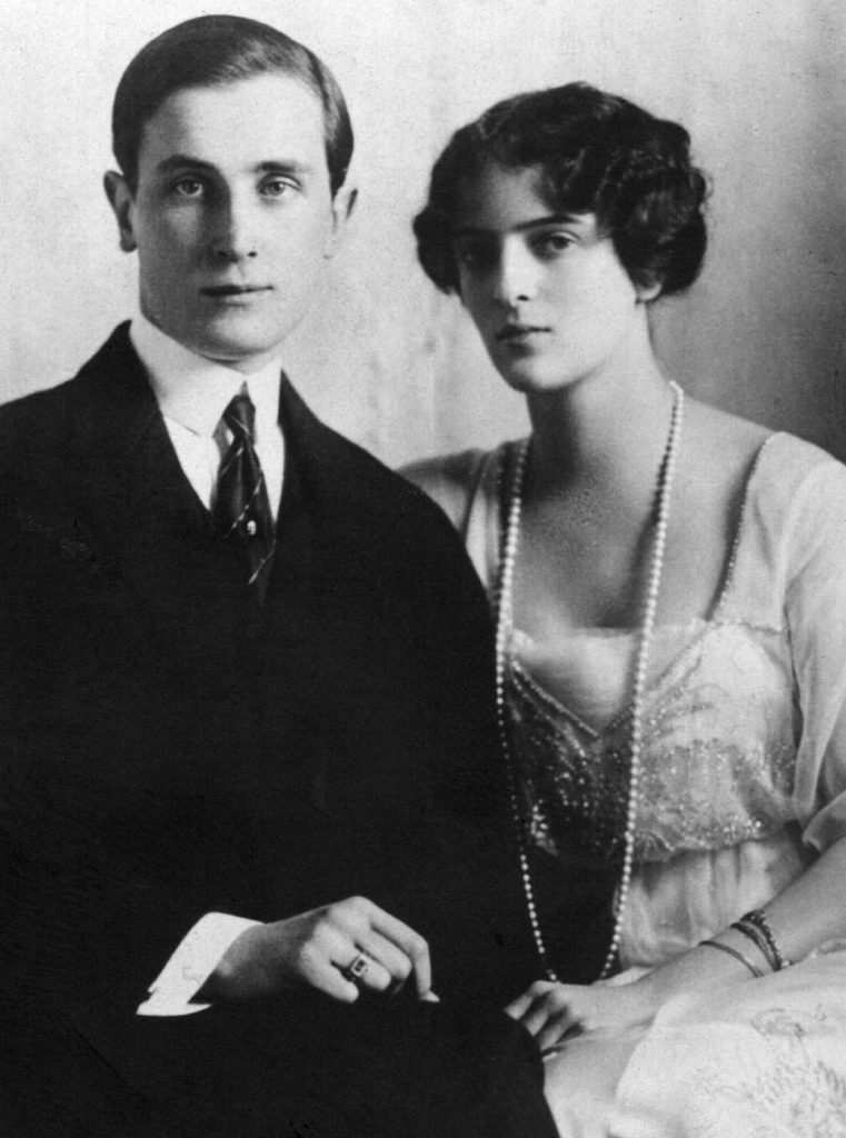 Książę Feliks Jusupow z żoną Iriną (domena publiczna).