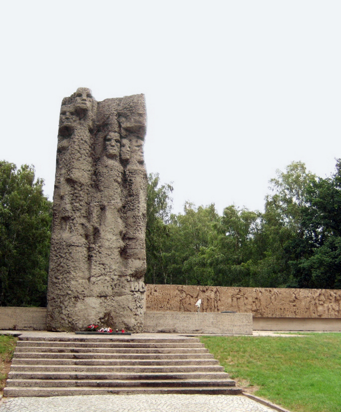 Pomnik poświęcony pamięci więźniom KL Stutthof (Hans Weingartz/CC BY-SA 2.0 de).