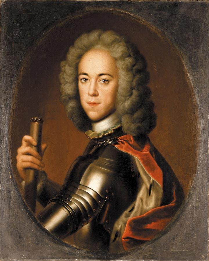Portret carewicza Aleksego autorstwa Bernharda Christopha Francke'a (domena publiczna).