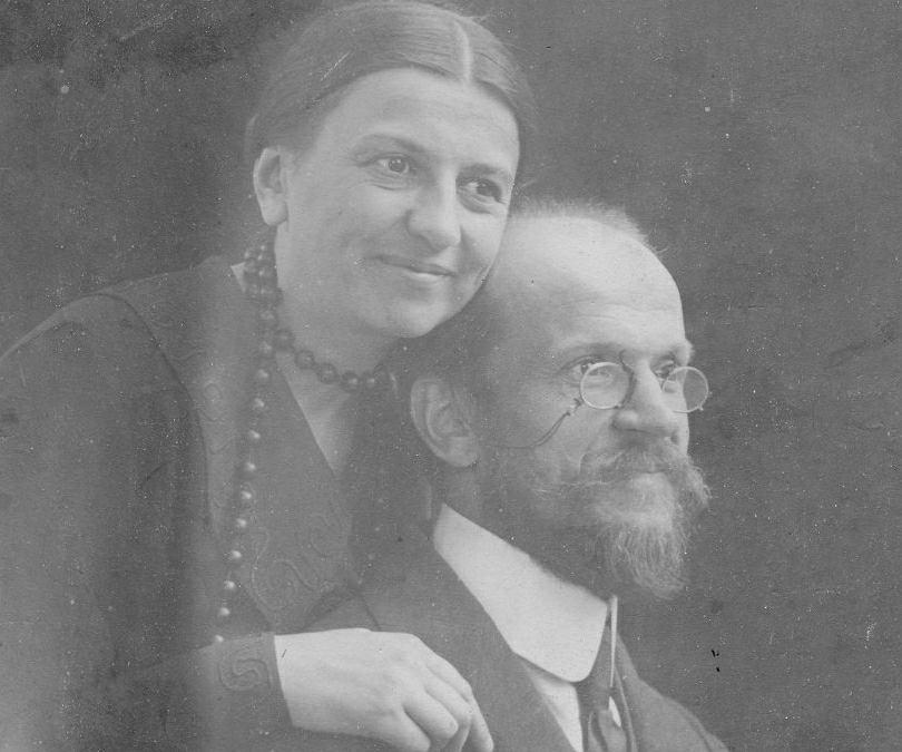 Posłanka Maria Moczydłowska z mężem