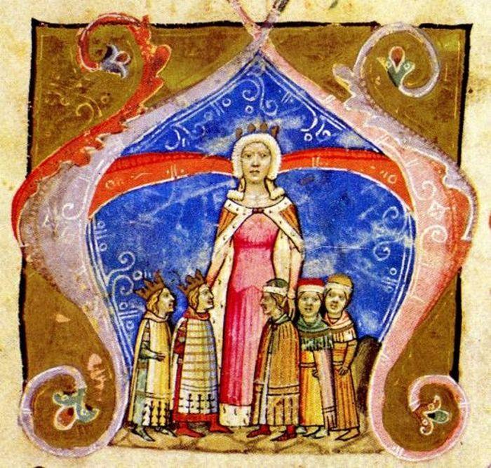 Ruszając do Rzymu Elżbieta zabrała ze sobą aż pięć ton złota (domena publiczna).