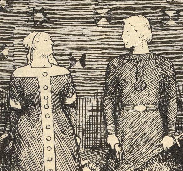 Sławna Sygryda Storrada. Są historycy, według których postaci tej nie należy łączyć z polską księżniczką, córką Mieszka I.