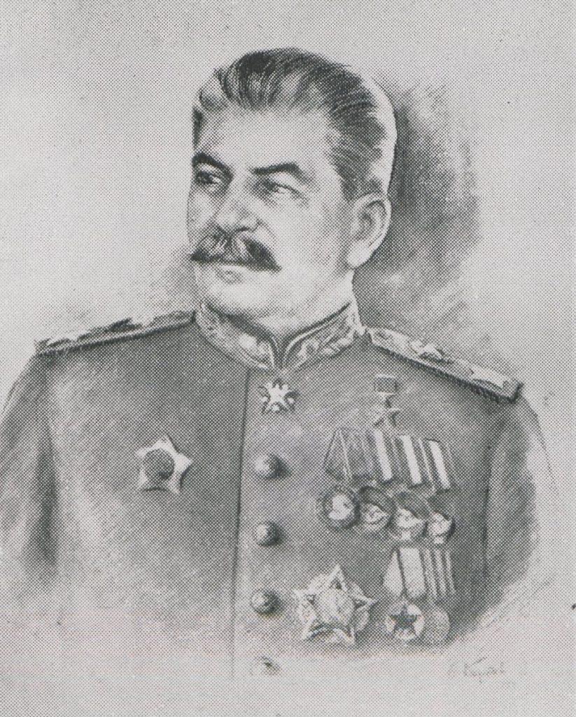 Stalin ani myślał pomagać powstańczej Warszawie (domena publiczna).
