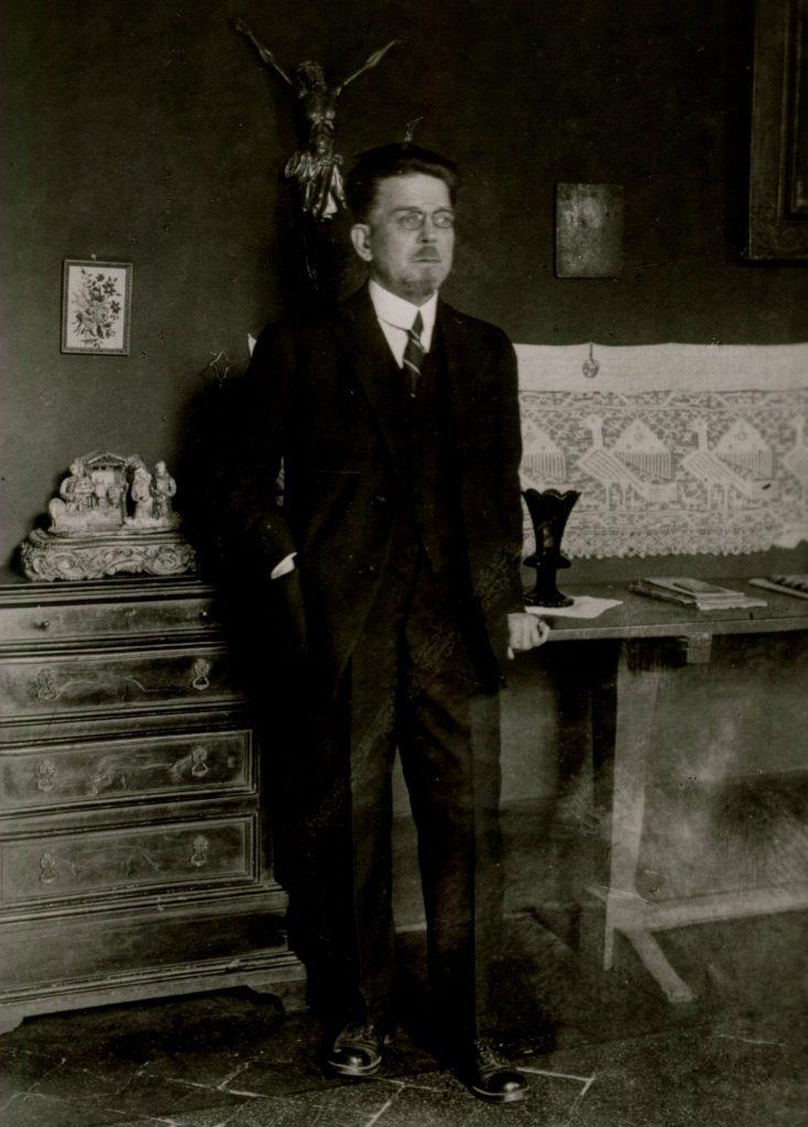 Władysław Reymont miał sobie sam przepowiedzieć wielką literacką karierę (domena publiczna).