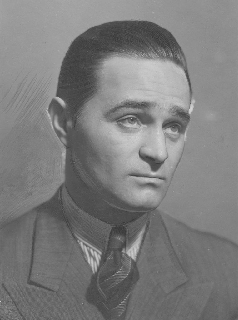 Adolf Dymsza na fotografii z 1938 roku.