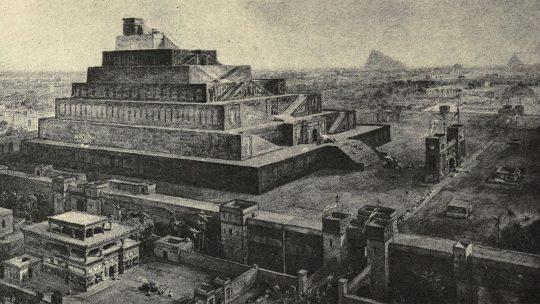 Babilon w wyobrażeniu Williama Simpsona.