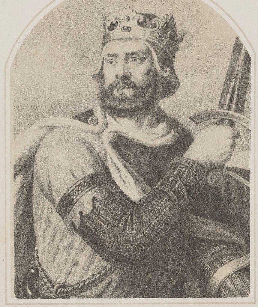 Bolesław Krzywousty w wyobrażeniu Aleksandra Lessera.