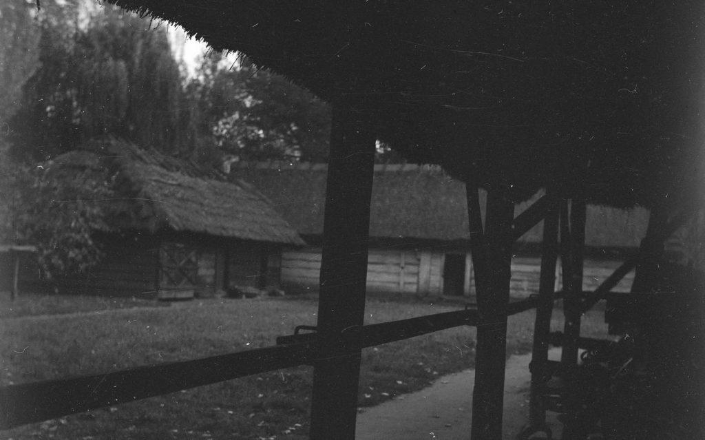 Dziewczyny znalazły schronienie w stodole tkniętej złym przeczuciem wieśniaczki. Ilustracja poglądowa (domena publiczna).