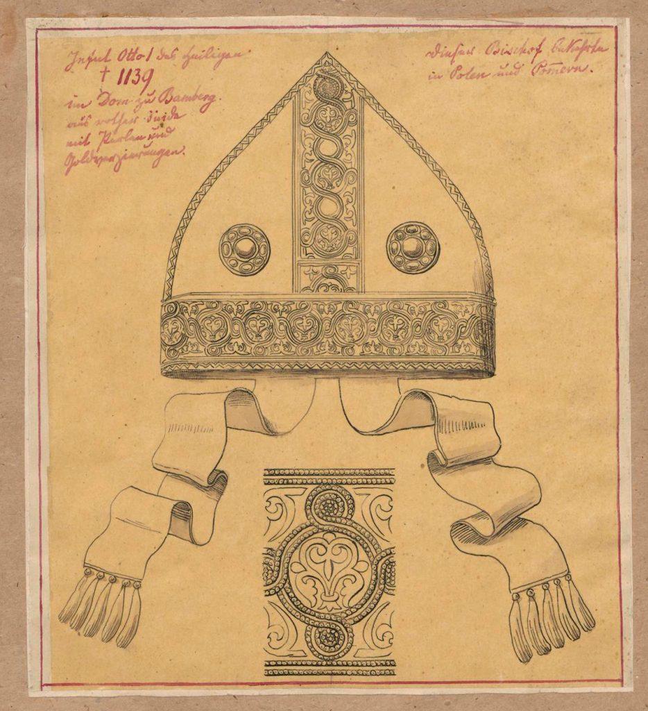 Infuła św. Ottona, biskupa bamberskiego