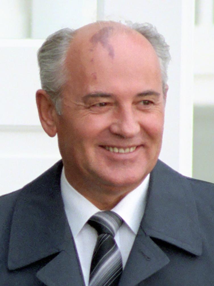 Michaił Gorbaczow na fotografii z 1986 roku.