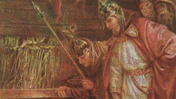 Mieszko II Lambert w wyobrażeniu XIX-wiecznego artysty.