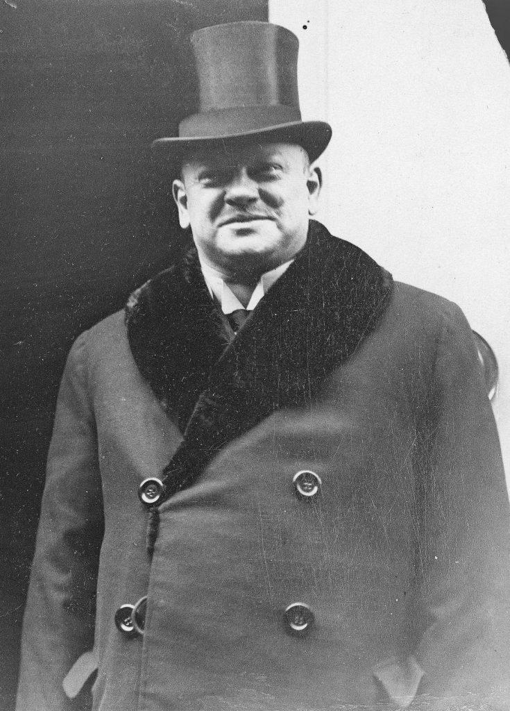 Niemiecki minister spraw zagranicznych Gustav Stresemann uważał, że nacisk ekonomiczny zmusi Polaków do ustępstw (domena publiczna).