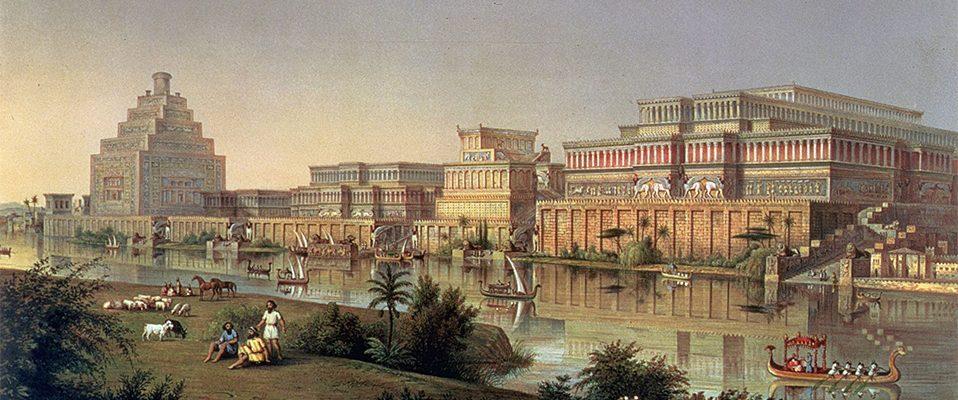 Pałac asyryjskiego króla w Nimrud (Kalchu)