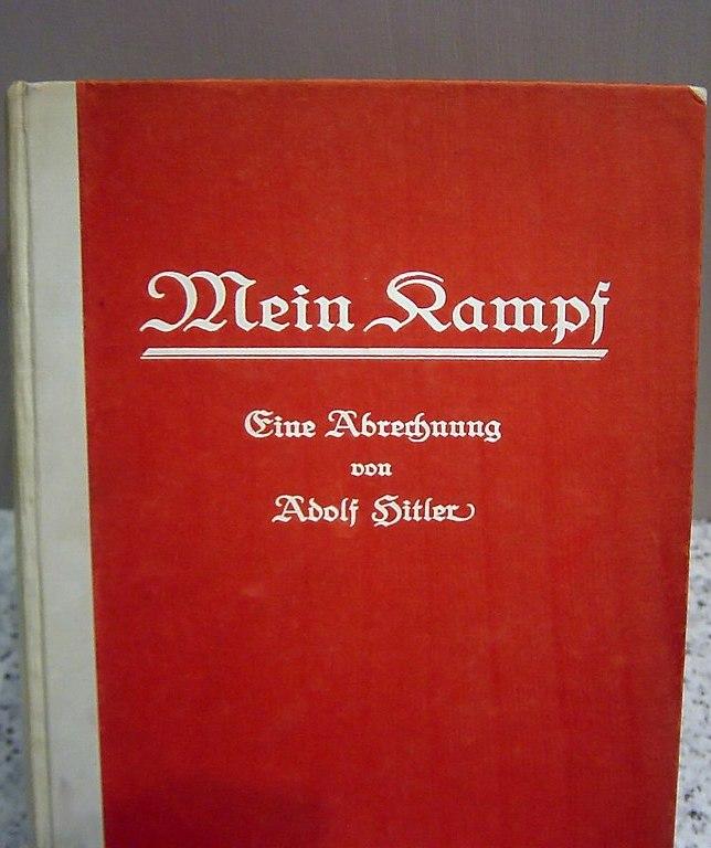 Pierwsze niemieckie wydanie Mein Kampf z 1925 roku (Anton Huttenlocher/domena publiczna).