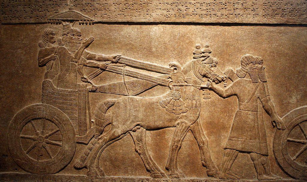 Podbój Astartu przez króla Tigletpilesara III ok. 730 roku p.n.e.