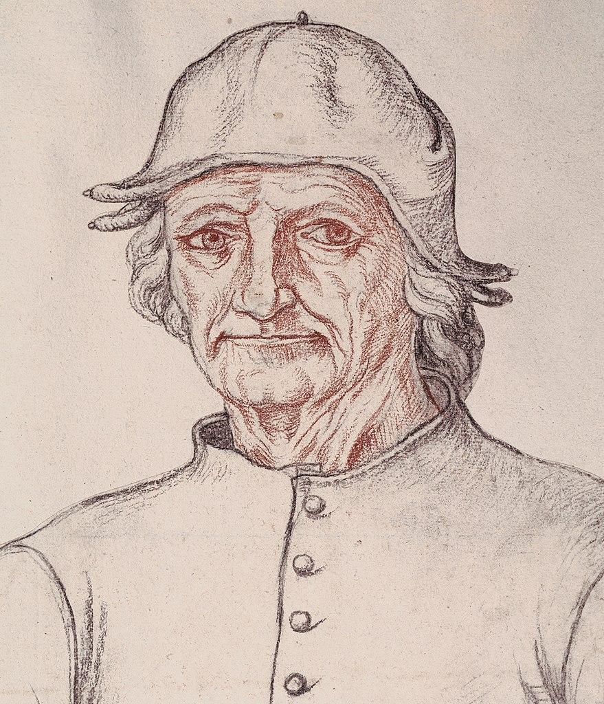 Portret Hieronima Bosch z połowy XVI wieku (domena publiczna).