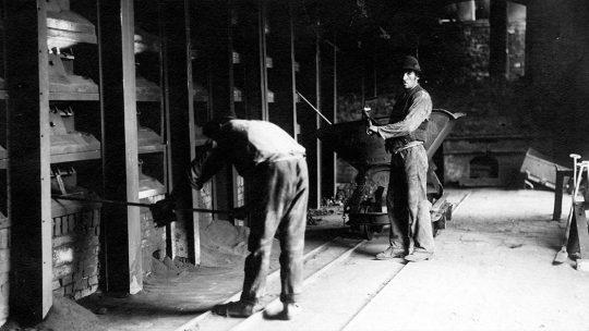 Praca w kopalni cynku
