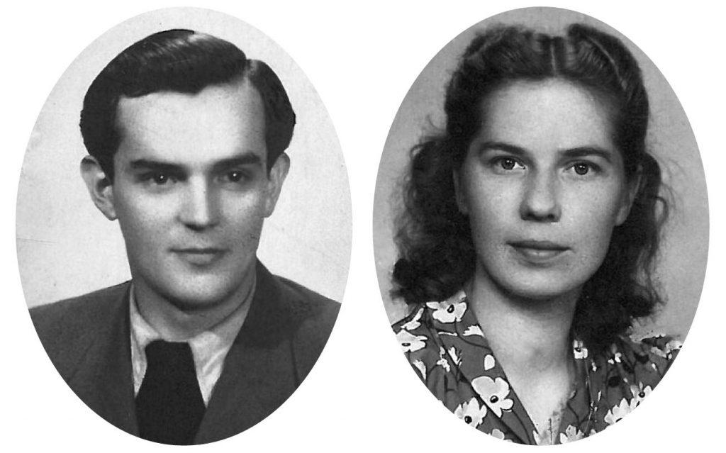 Rodzice Anny Odi: Józef i Mira (Mimi).