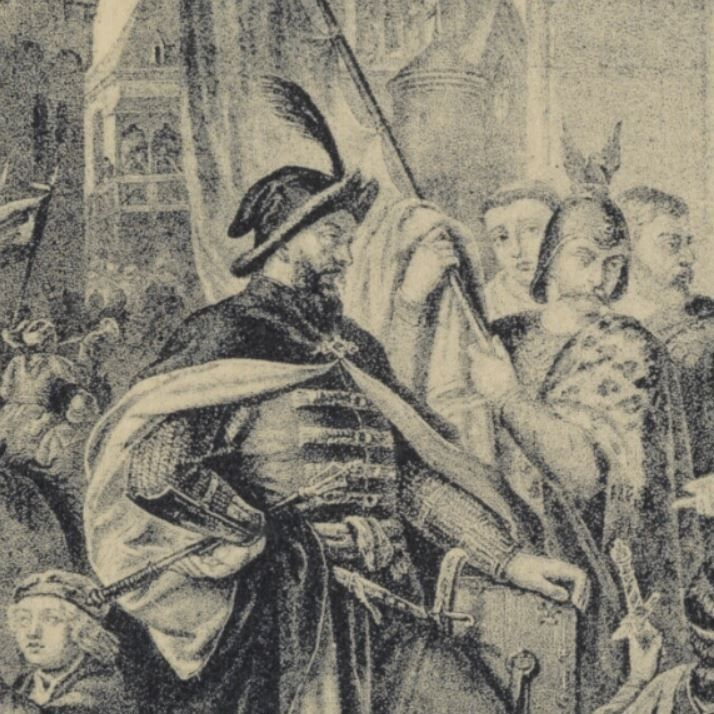 Sieciech w wyobrażeniu XIX-wiecznego artysty.