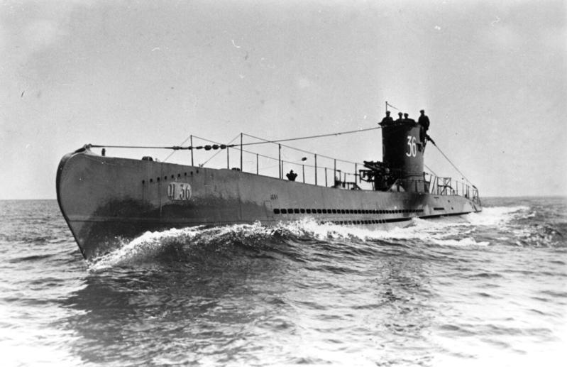 U-Boot Typ VII. To te jednostki stanowiły podstawę niemieckiej floty podwodnej w trakcie II wojny światowej (Bundesarchiv/CC-BY-SA 3.0).