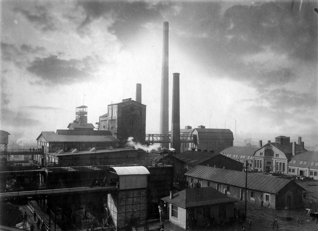 """Węgiel był głównym surowcem jaki Polska eksportowała do Niemiec. Na zdjęciu kopalnia """"Matylda"""" (domena publiczna)."""