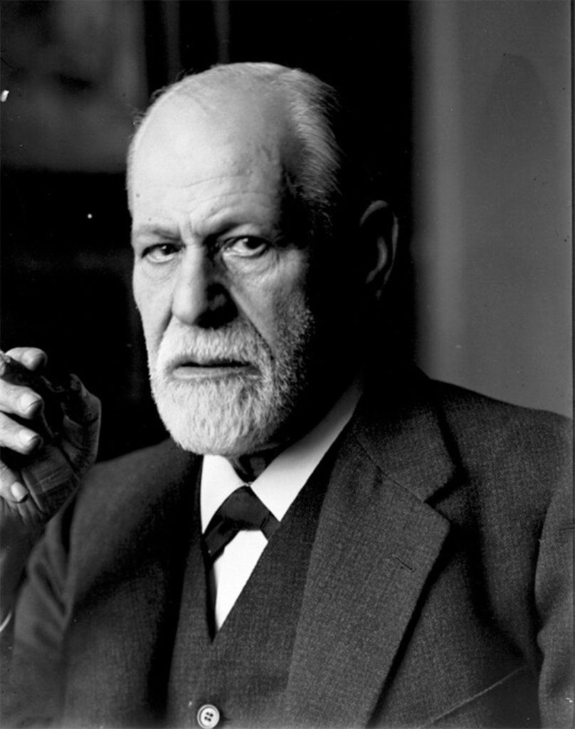 Zygmunt Freud na fotografii z 1926 roku.