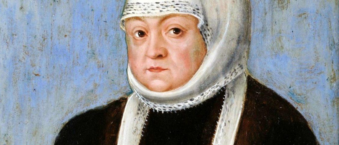 Bona Sforza. Obraz z warsztatu Łukasza Cranacha młodszego.