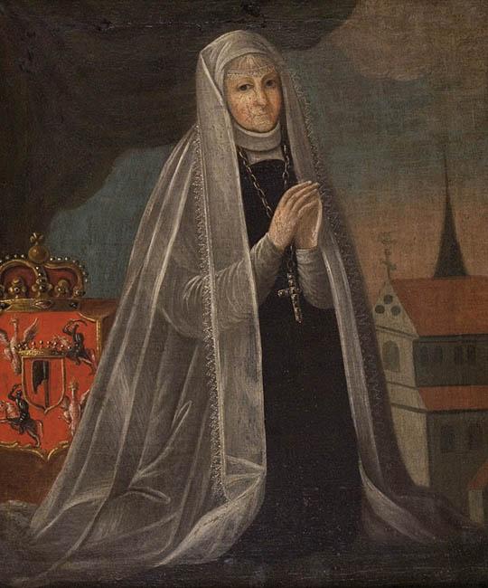 Elżbieta z Pilczy w wyobrażeniu XVIII-wiecznego malarza.