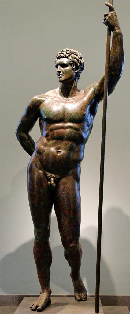 Hellenistyczna rzeźba identyfikowana ostrożnie z Seleukosem