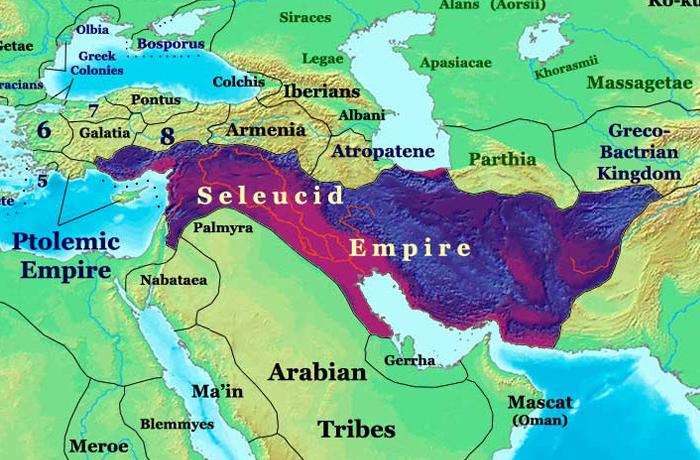 Imperium Seleuików w 200 roku p.n.e.
