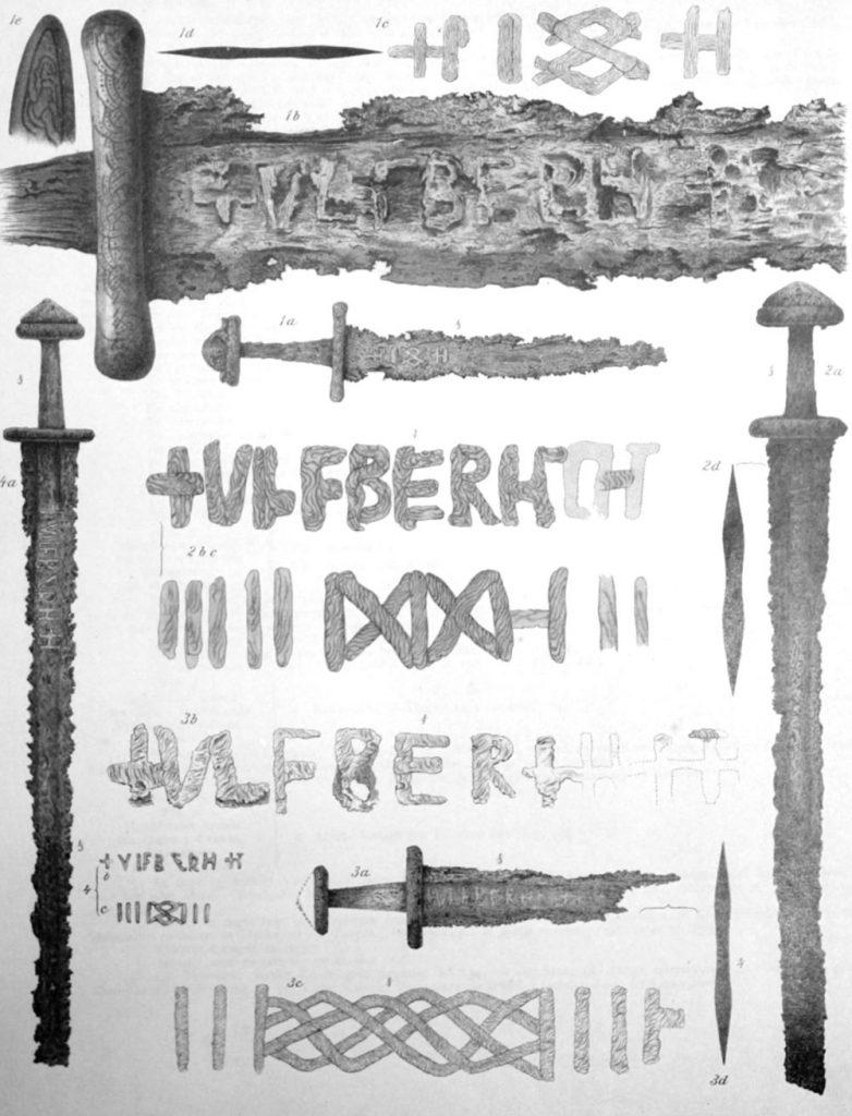 Importowane miecze typu Ulfberht odnalezione w Norwegii1