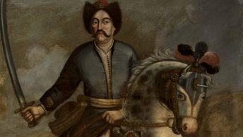 Jan III Sobieski na obrazie polskiego artysty wykonanym za życia.