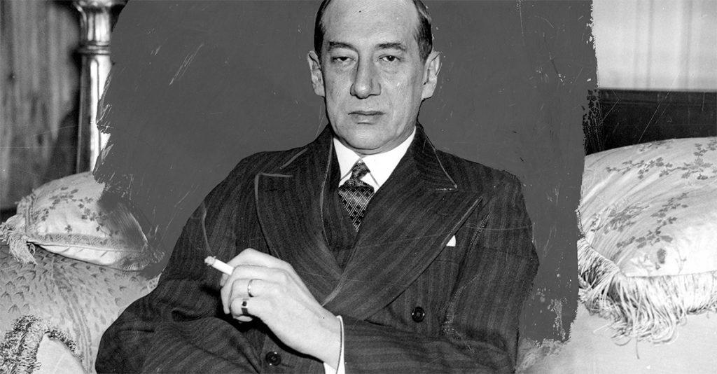 Józef Beck na fotografii Ilustrowanego Kuryera Codziennego.