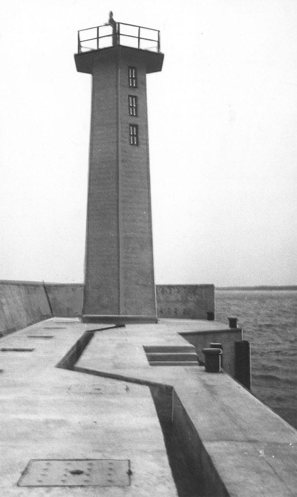 Latarnia morska portu Władysławowo.