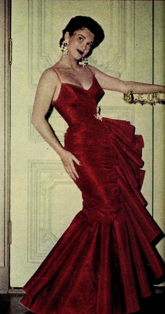 Linda Christian na zdjęciu z połowy lat 50. XX wieku (domena publiczna).