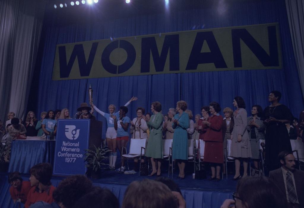 Narodowa Konferencja Kobiet w 1977 roku.