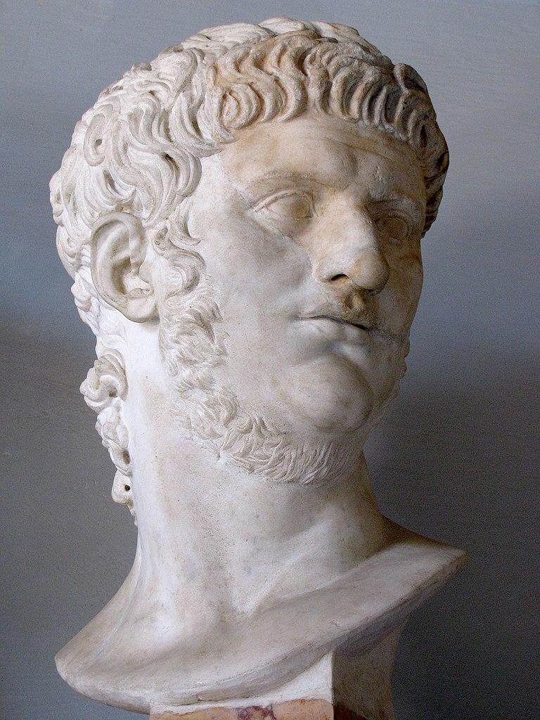 Popiersie Nerona ze zbiorów Muzeum Kapitolińskiego w Rzymie (cjh1452000/CC BY-SA 3.0).