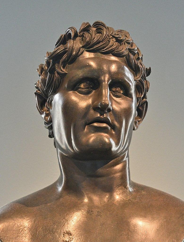Rzymska kopia posągu Seleukosa I Nikatora (fot. Allan Gluck, lic. CC-BY-SA 4,0)