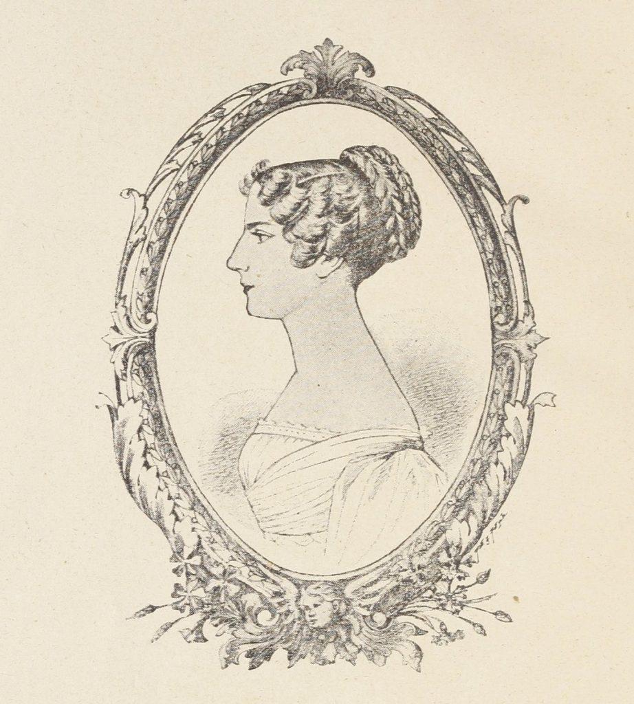 XIX-wieczna podobizna Elizy Radziwiłłówny (domena publiczna).