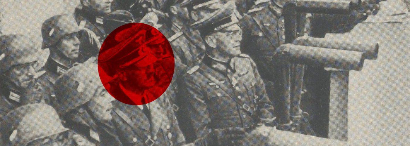 Adolf Hitler przygląda się oblężonej Warszawie