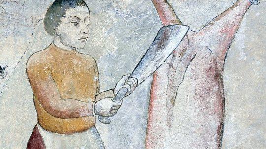 Bezwzględny średniowieczny mięsożerca