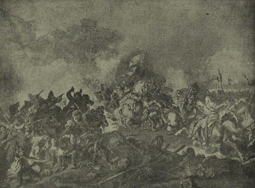 Bitwa pod Żółtymi Wodami według Juliusza Kossaka (domena publiczna).