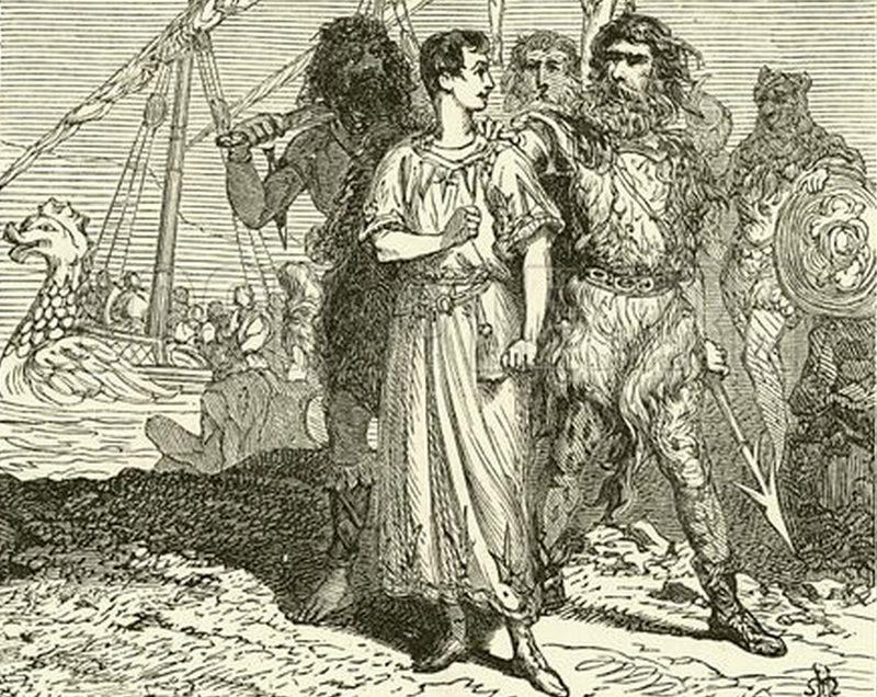 Cezar w w niewoli u piratów (Henri de Montaut/domena publiczna).