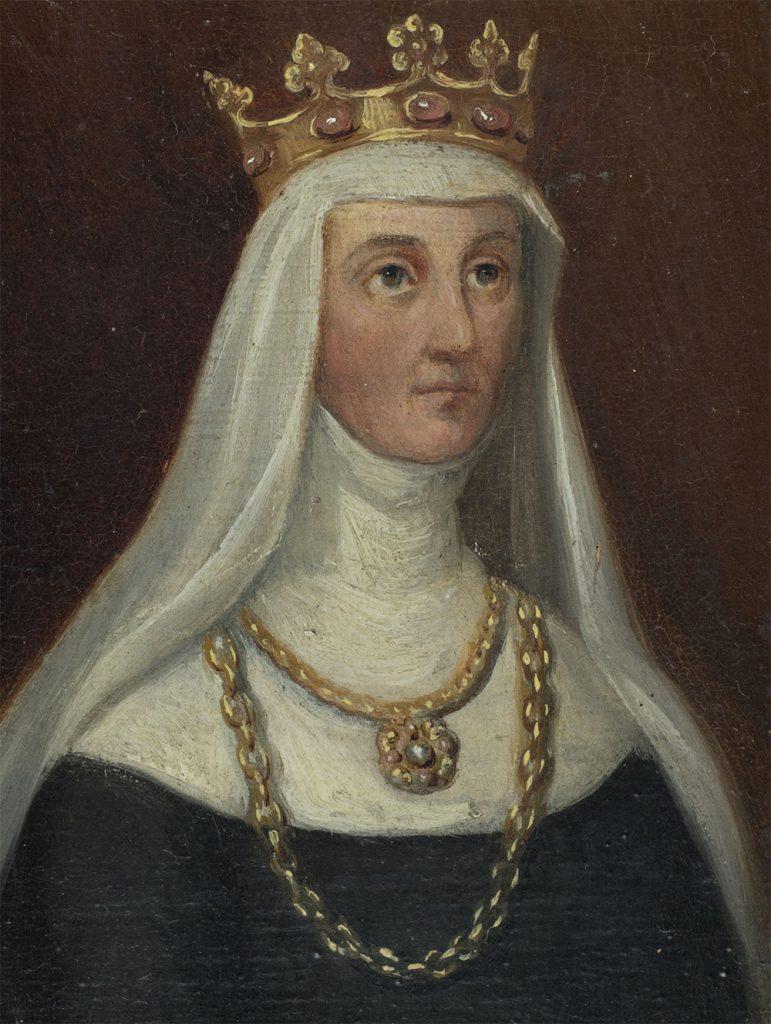 Elżbieta z Pilczy (Granowska). XIX-wieczny obraz Marcelego Krajewskiego.