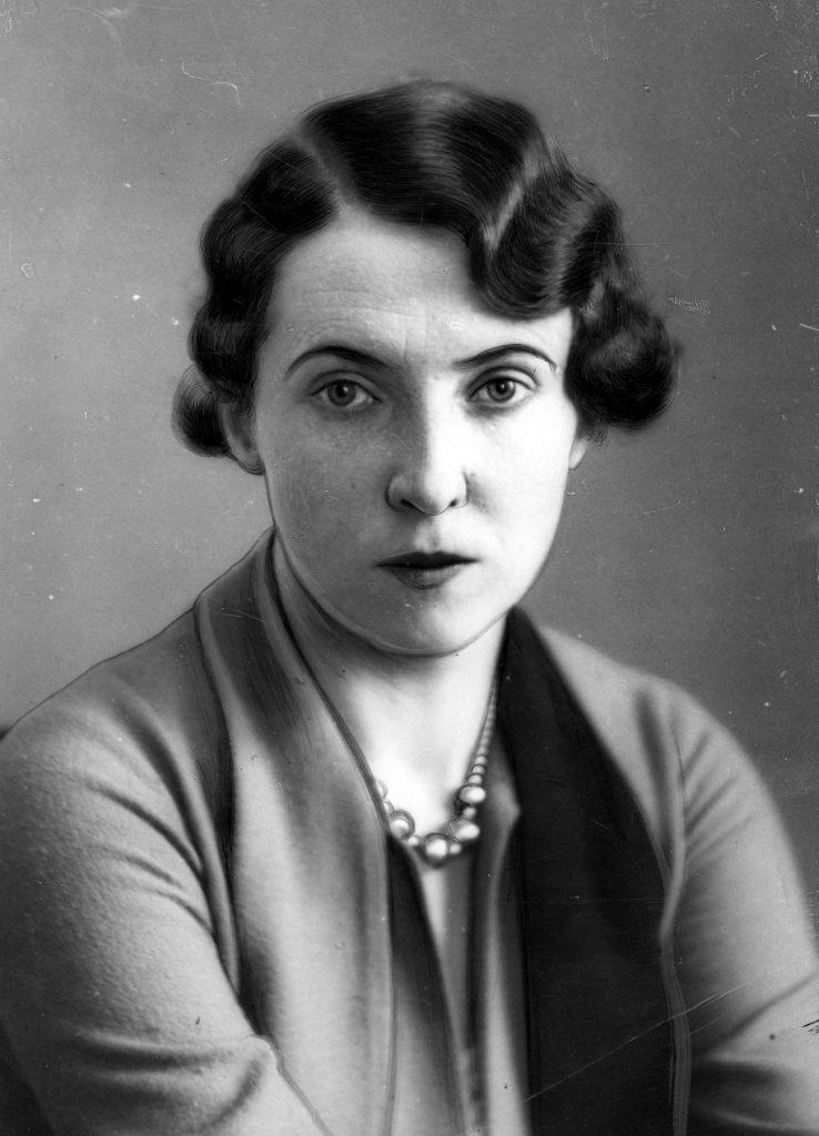 Jadwiga Beck na zdjęciu z 1933 roku (domena publiczna).