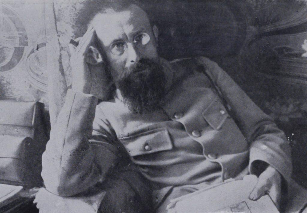 """Jan Gorzechowski """"Jur"""" na zdjęciu z 1914 lub 1915 roku (domena publiczna)."""
