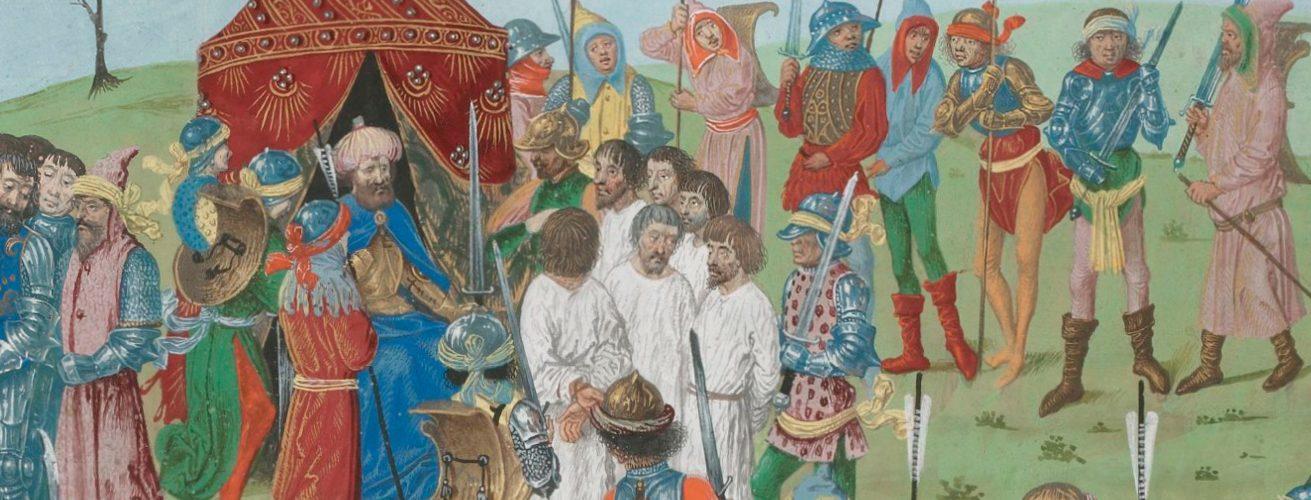 Jeńcy bitwa pod Nikopolis