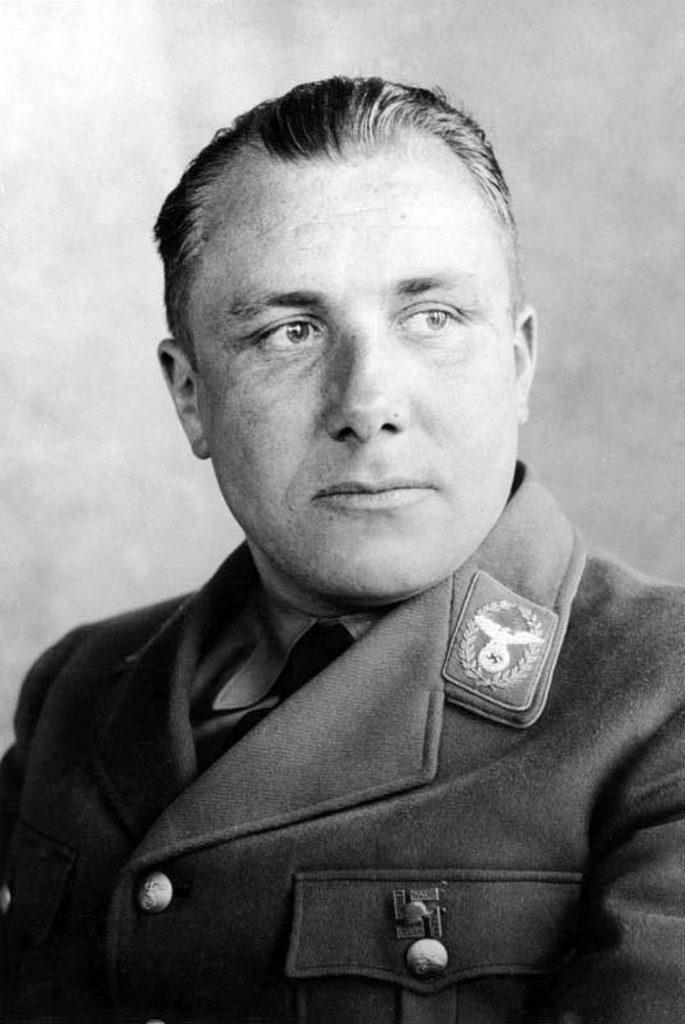 Martin Bormann na zdjęciu z 1934 roku (Bundesarchiv/CC-BY-SA 3.0).