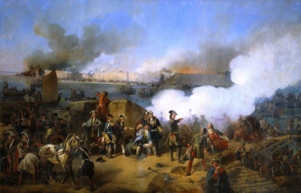 Oczkiwie w głowie Piotra była armia (Alexander von Kotzebue/domena publiczna).